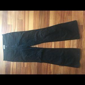 Madewell flea market flare black jean size 27